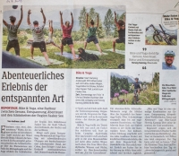 Mountainbike & Yoga am Faaker See